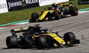 Hulkenberg and Sainz deliver season best to Renault
