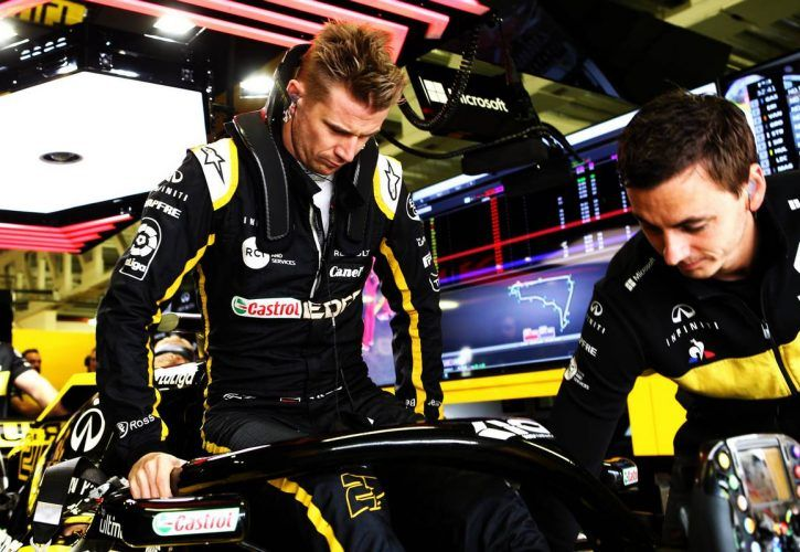 Nico Hulkenberg (GER) Renault Sport F1 Team RS18.