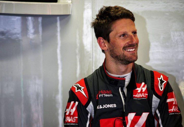 Romain Grosjean (FRA) Haas F1 Team. 27.10.2018.