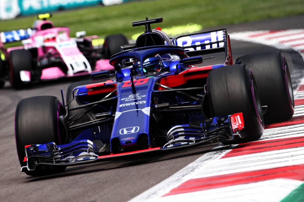 Brendon Hartley (NZL) Scuderia Toro Rosso STR13.