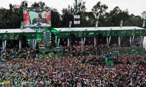Brawn hails Mexican GP's 'right mix of racing and entertainment'