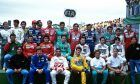 Drivers prepare for the final race of the 1991 season in Adelaide, Australia