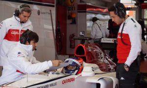 Tatiana Calderon puts in the miles with Sauber at Fiorano