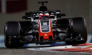 Grosjean's race 'complicated' by first lap run-in with Hulkenberg