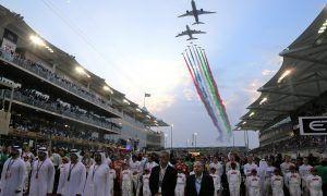 Scenes from the paddock - Abu Dhabi