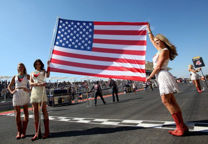 2012 United States Grand Prix - grid girls - Austin, Texas