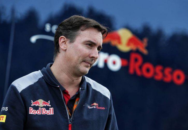 James Key (GBR) Scuderia Toro Rosso Technical Director.