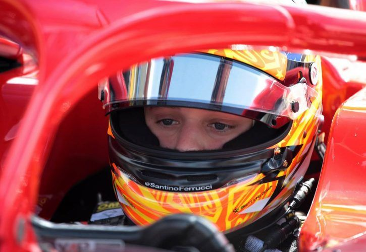 Race 2, Santino Ferrucci (USA) Trident 24.06.2018. FIA Formula 2 Championship, Rd 5, Paul Ricard,