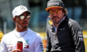 Alonso could have won more championships, says Hamilton