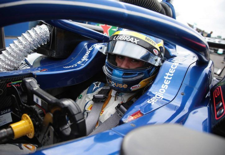 Race 2, Sergio Sette Camara (BRA) Carlin
