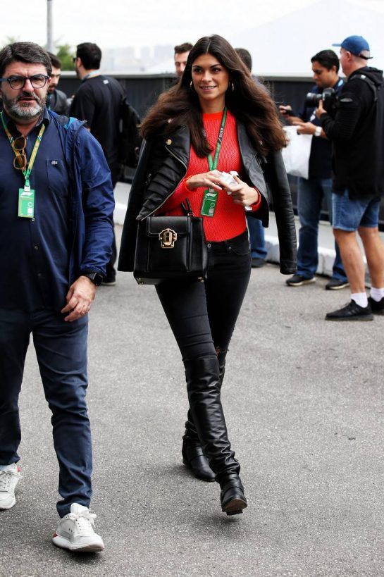 Linda Morselli, girlfriend of Fernando Alonso (ESP) McLaren. 09.11.2018. Formula 1 World Championship, Rd 20, Brazilian Grand Prix, Sao Paulo, Brazil, Practice Day. - www.xpbimages.com, EMail: requests@xpbimages.com - copy of publication required for printed pictures. Every used picture is fee-liable. © Copyright: Batchelor / XPB Images