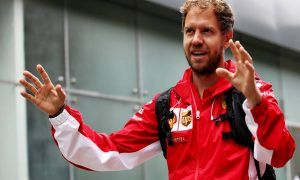 Vettel, a loose screw and a bit of cheeky innuendo
