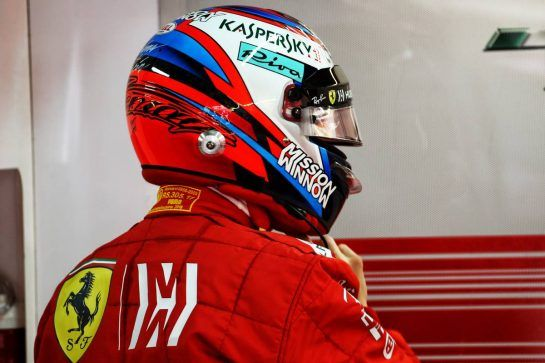 Kimi Raikkonen (FIN) Ferrari. 09.11.2018. Formula 1 World Championship, Rd 20, Brazilian Grand Prix, Sao Paulo, Brazil, Practice Day. - www.xpbimages.com, EMail: requests@xpbimages.com - copy of publication required for printed pictures. Every used picture is fee-liable. © Copyright: Batchelor / XPB Images
