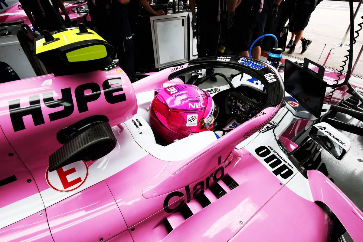 Esteban Ocon (FRA) Racing Point Force India F1 VJM11.