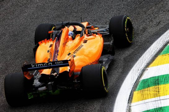 Lando Norris (GBR) McLaren MCL33 Test Driver. 09.11.2018. Formula 1 World Championship, Rd 20, Brazilian Grand Prix, Sao Paulo, Brazil, Practice Day. - www.xpbimages.com, EMail: requests@xpbimages.com - copy of publication required for printed pictures. Every used picture is fee-liable. © Copyright: Moy / XPB Images