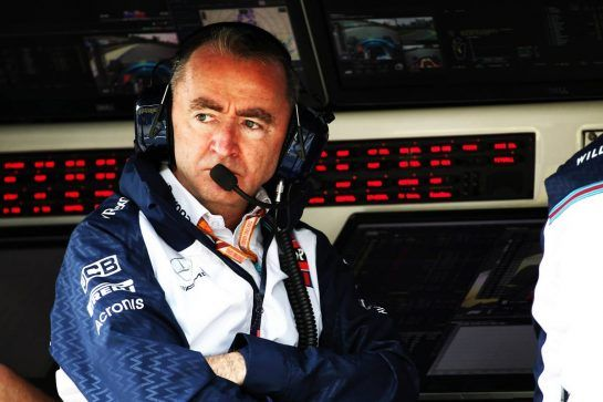 Paddy Lowe (GBR) Williams Chief Technical Officer. 09.11.2018. Formula 1 World Championship, Rd 20, Brazilian Grand Prix, Sao Paulo, Brazil, Practice Day. - www.xpbimages.com, EMail: requests@xpbimages.com - copy of publication required for printed pictures. Every used picture is fee-liable. © Copyright: Batchelor / XPB Images