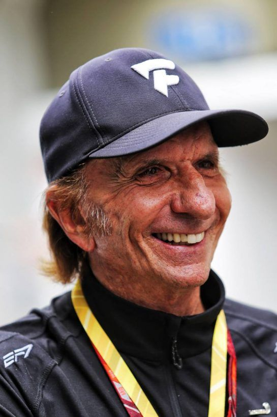 Emerson Fittipaldi (BRA). 10.11.2018. Formula 1 World Championship, Rd 20, Brazilian Grand Prix, Sao Paulo, Brazil, Qualifying Day. - www.xpbimages.com, EMail: requests@xpbimages.com - copy of publication required for printed pictures. Every used picture is fee-liable. © Copyright: Moy / XPB Images
