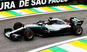 Hamilton comes out on top in rain-hit Brazil qualifying