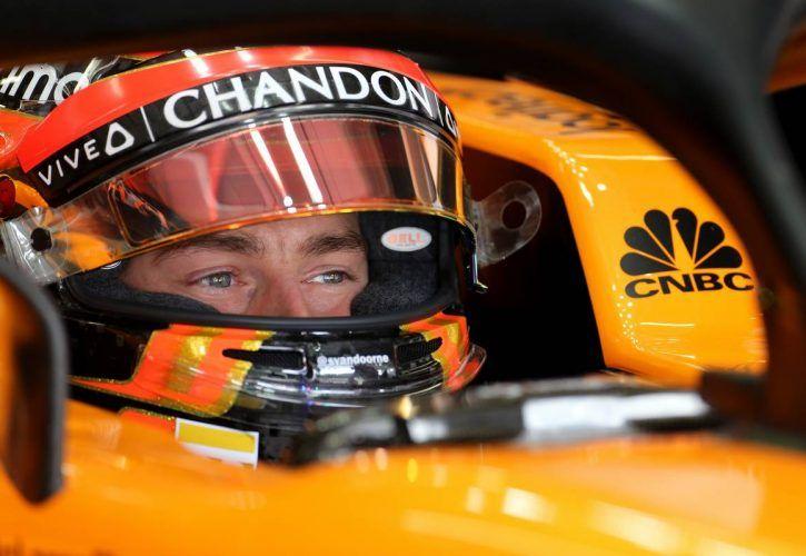 Stoffel Vandoorne (BEL) McLaren F1 10.11.2018.