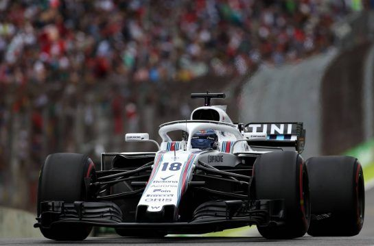 Lance Stroll (CDN) Williams F1 Team 10.11.2018. Formula 1 World Championship, Rd 20, Brazilian Grand Prix, Sao Paulo, Brazil, Qualifying Day.- www.xpbimages.com, EMail: requests@xpbimages.com - copy of publication required for printed pictures. Every used picture is fee-liable. © Copyright: Charniaux / XPB Images