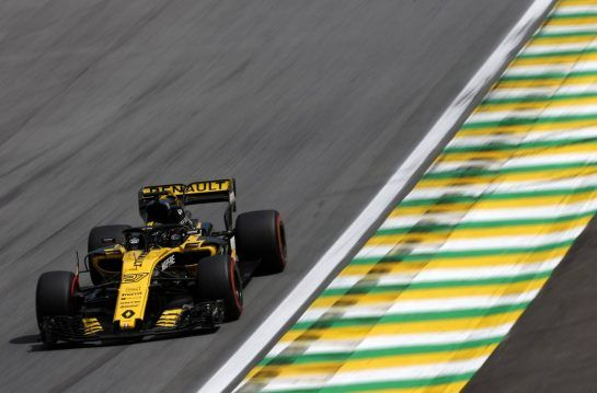 Nico Hulkenberg (GER) Renault Sport F1 Team 10.11.2018. Formula 1 World Championship, Rd 20, Brazilian Grand Prix, Sao Paulo, Brazil, Qualifying Day.- www.xpbimages.com, EMail: requests@xpbimages.com - copy of publication required for printed pictures. Every used picture is fee-liable. © Copyright: Charniaux / XPB Images