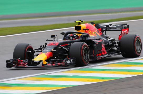 Max Verstappen (NLD) Red Bull Racing 10.11.2018. Formula 1 World Championship, Rd 20, Brazilian Grand Prix, Sao Paulo, Brazil, Qualifying Day.- www.xpbimages.com, EMail: requests@xpbimages.com - copy of publication required for printed pictures. Every used picture is fee-liable. © Copyright: Charniaux / XPB Images