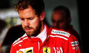 Vettel reprimanded and fined - but keeps front row spot