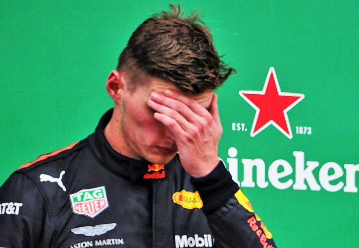 Second placed Max Verstappen (NLD) Red Bull Racing.