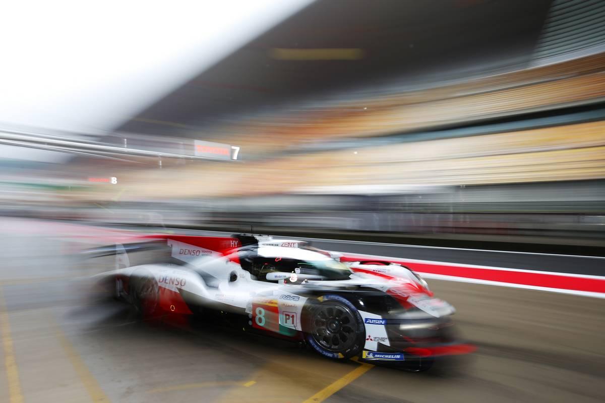 Sebastien Buemi (SUI) / Kazuki Nakajima (JPN) / Fernando Alonso (ESP) #08 Toyota Gazoo Racing Toyota TS050 Hybrid.