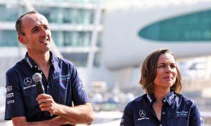 Williams: Kubica determination embodies team's 'fighting spirit'