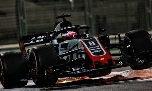 Grosjean celebrates 'one of the best laps of my career'