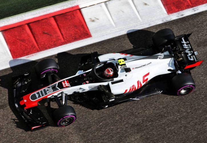 Kevin Magnussen (DEN) Haas VF-18.