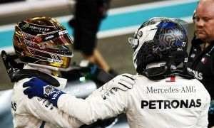 Hamilton and Bottas deliver final Mercedes lock-out of 2018