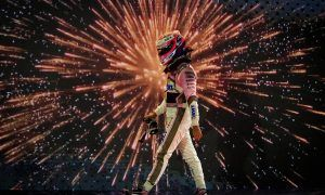 Abu Dhabi GP: Sunday's action in pictures