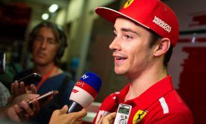 Emotional Leclerc hails 'special' day he had been waiting for