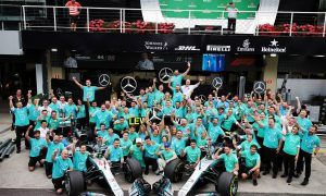 Todt welcomed Mercedes and Wolff to the 'five times club'