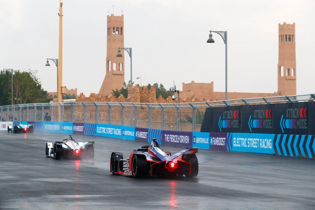 BMW's António Félix da Costa in qualifying for the Ad Diriyah ePrix