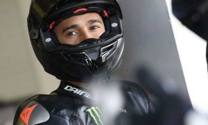 Hamilton's speed on Yamaha Superbike was cause for 'concern'