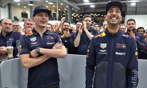 Red Bull bids farewell to Danny Ric!