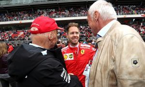 Lauda touched by hand-written letter from Vettel