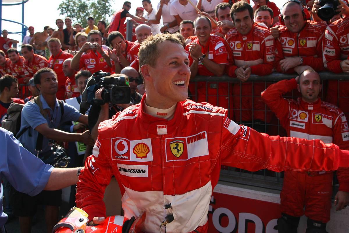 10.09.2006 Monza, Italy, Winner, Michael Schumacher (GER),