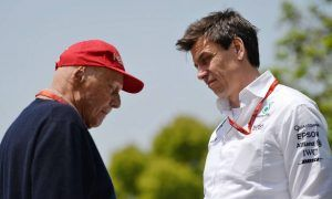 Wolff looking forward to Lauda return in 2019