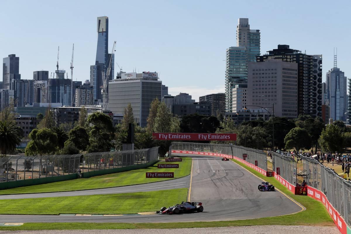 2018 Australian Grand Prix: Romain Grosjean (FRA) Haas F1 Team VF-18.