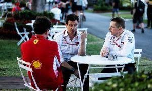 Wolff denies Mercedes tried to recruit Ferrari's Binotto
