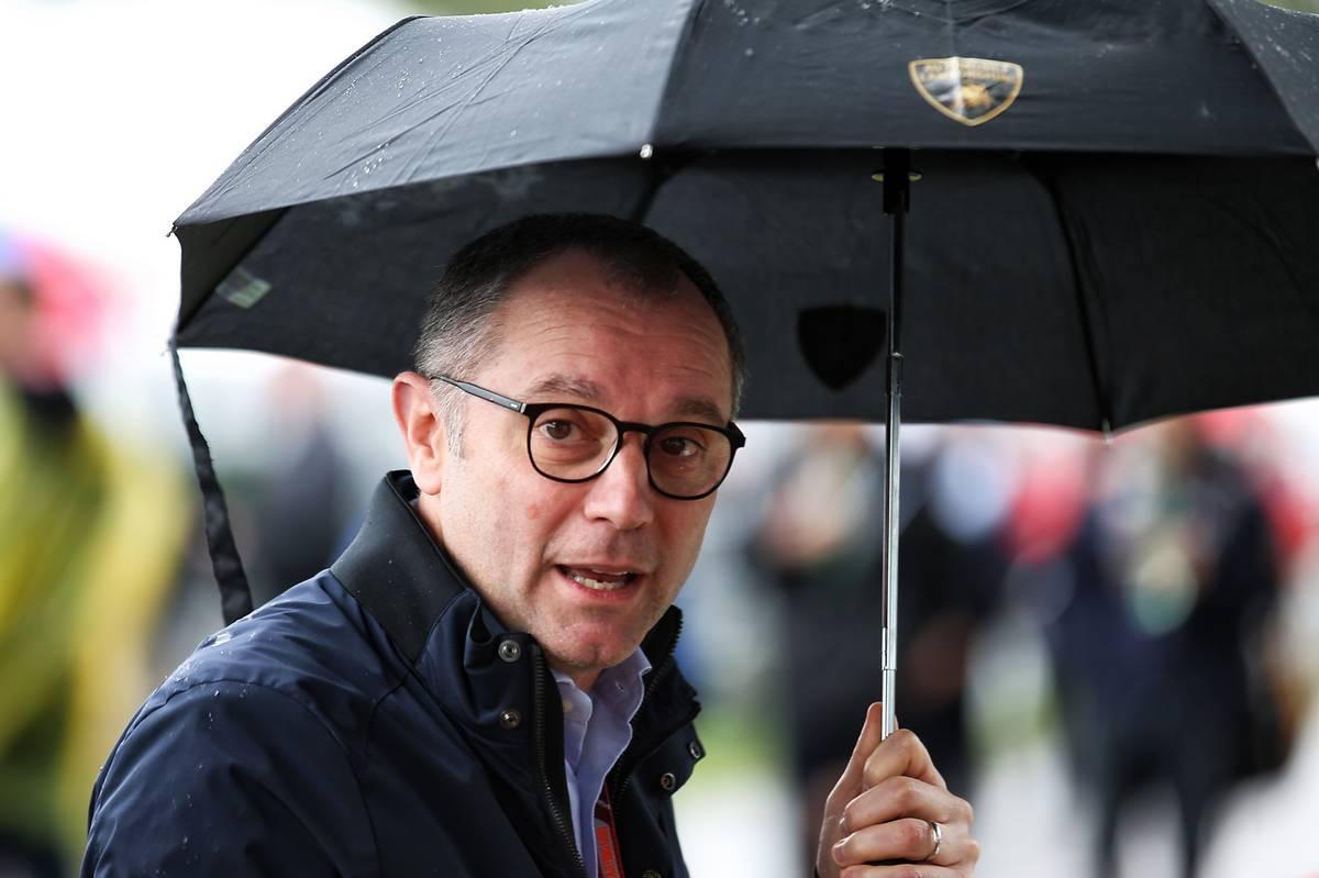 Stefano Domenicali (ITA) Lamborghini CEO.