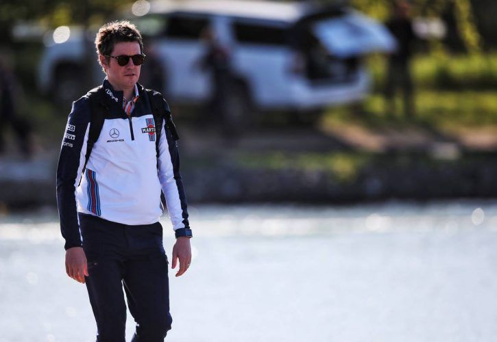 Rob Smedley (GBR) Williams Head of Vehicle Performance.