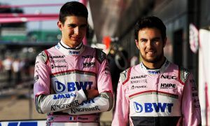 Perez admits he never got on with Ocon at Force India
