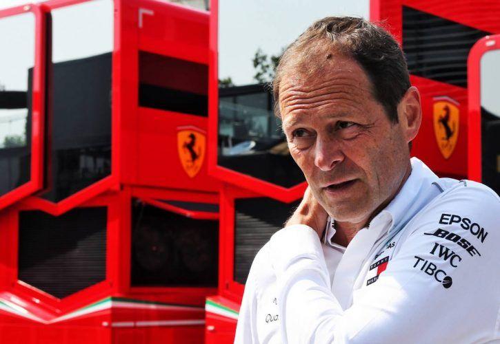 Aldo Costa (ITA) Mercedes AMG F1 Engineering Director.