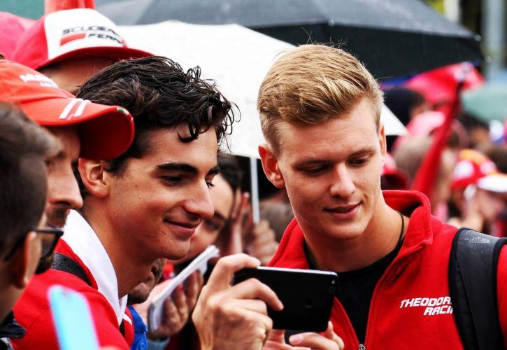 Mick Schumacher (GER) Formula Three Driver.
