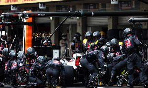 Haas isn't in F1 to finish in the middle, says Grosjean